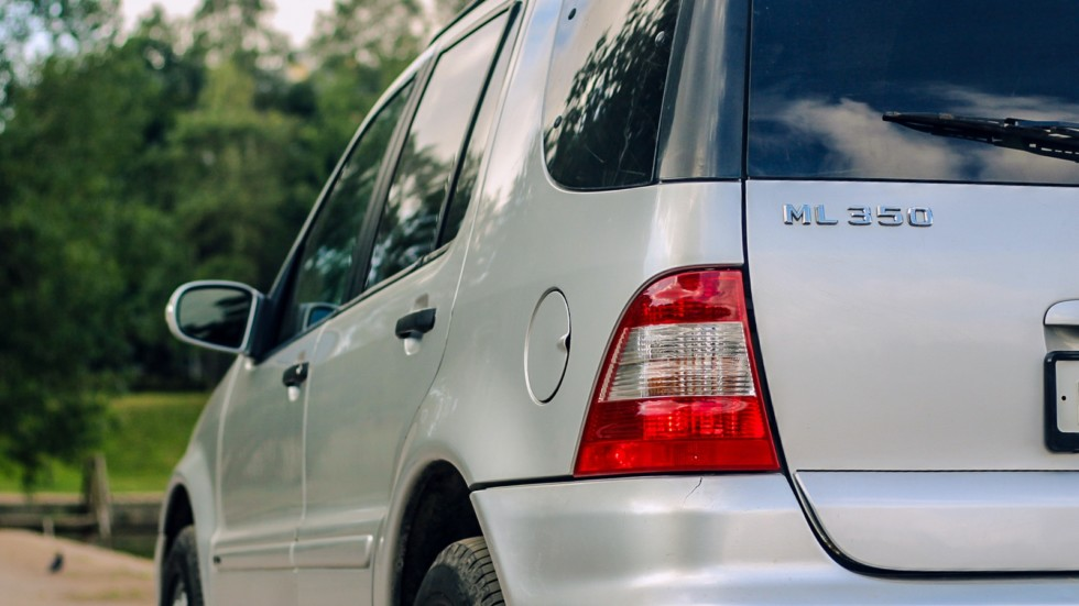 Mercedes-Benz ML W163 фонарь