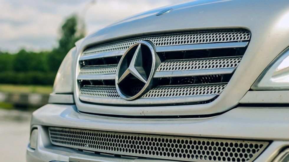 Mercedes-Benz ML W163 решетка радиатора