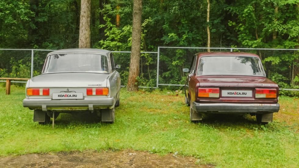 Москвич-2140 и ВАЗ-2107 (4)