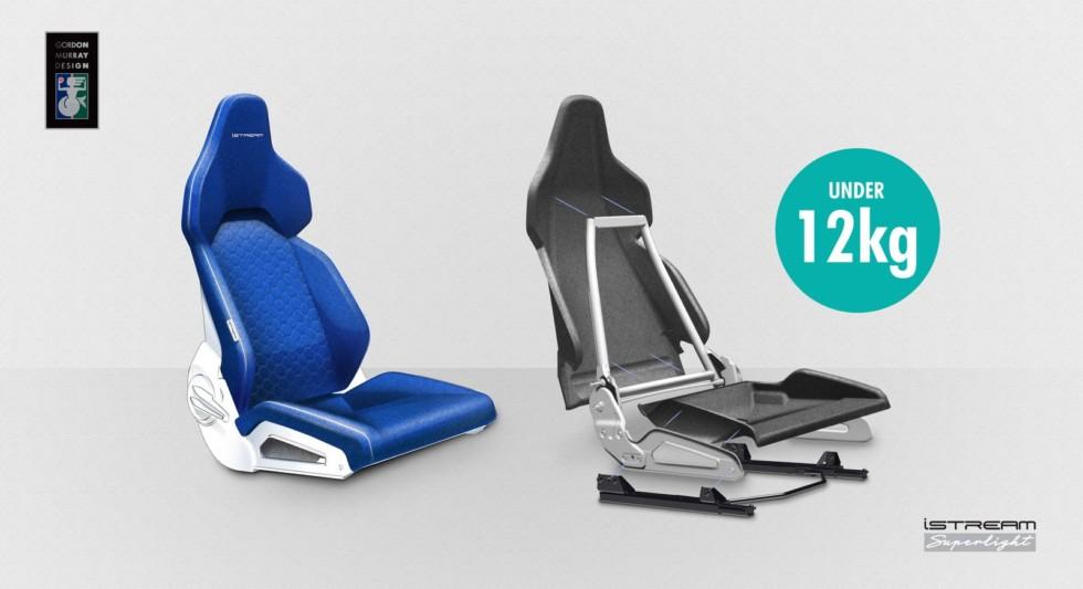 PR Images - iStream Lightweight Seat