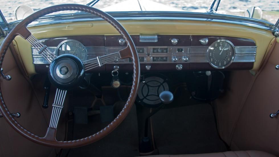 Packard Eight 1937 руль