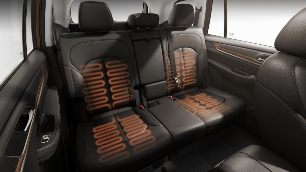 Roewe RX8 подогрев сидений