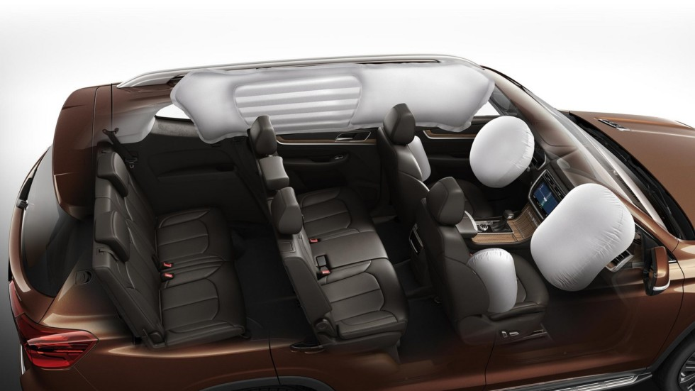 Roewe RX8 подушки безопасности