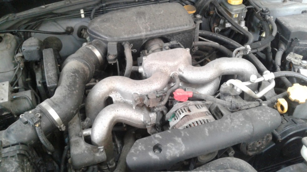 Subaru Forester двигатель