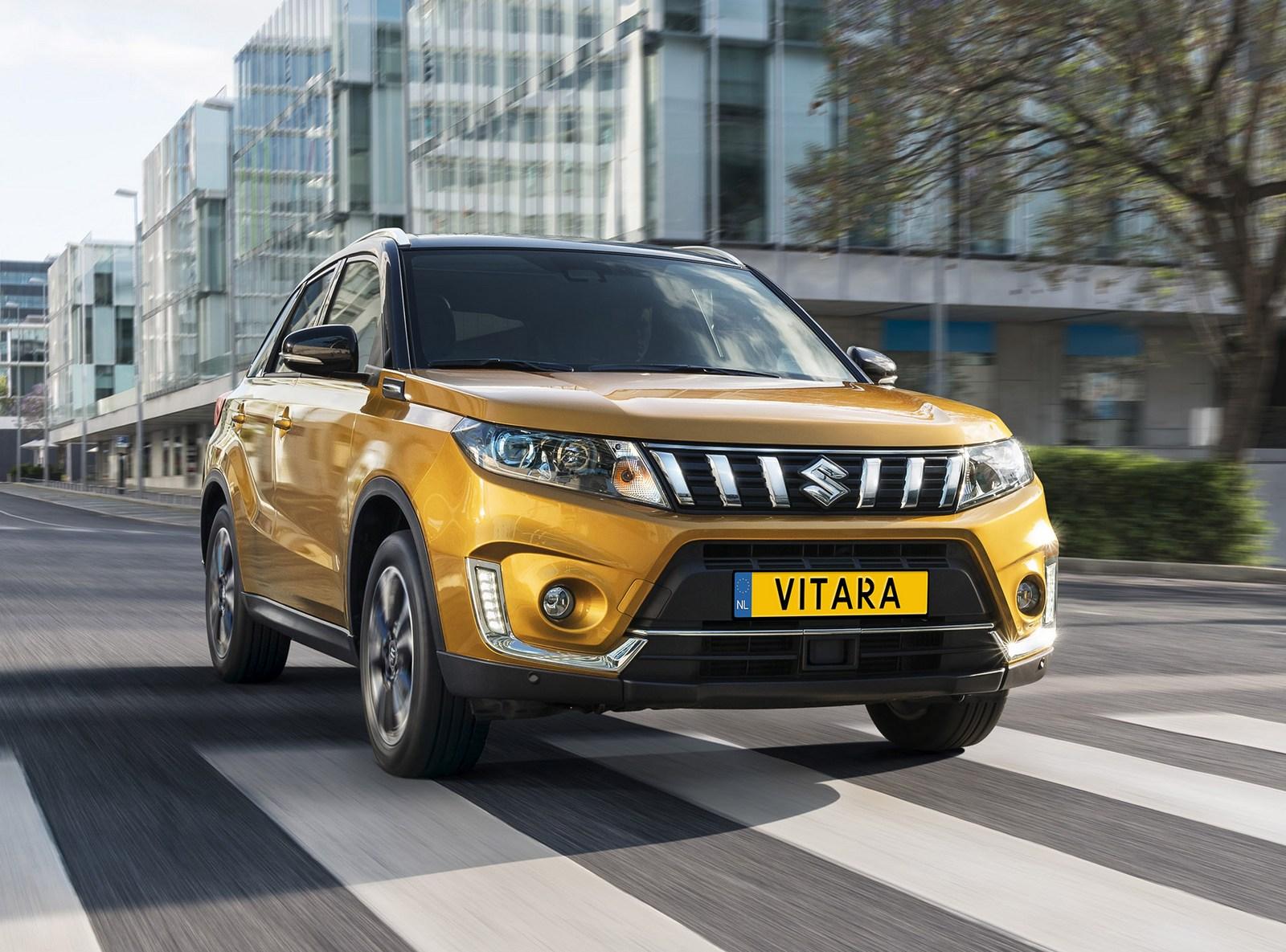 Новая Suzuki Vitara для Европы: фото салона, цены и пропавший дизель
