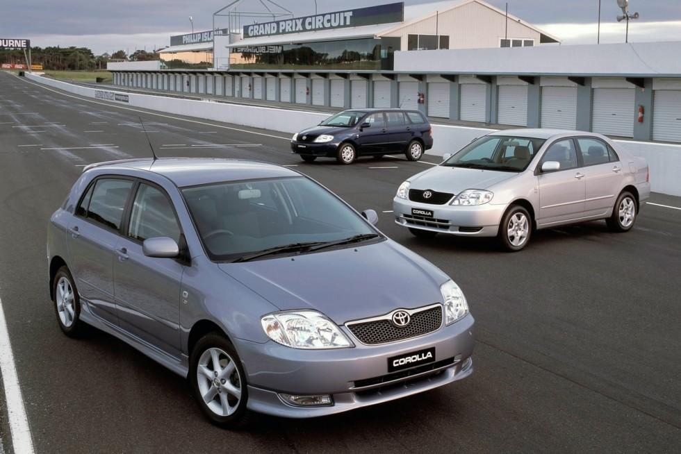 Toyota Corolla '2001–07с