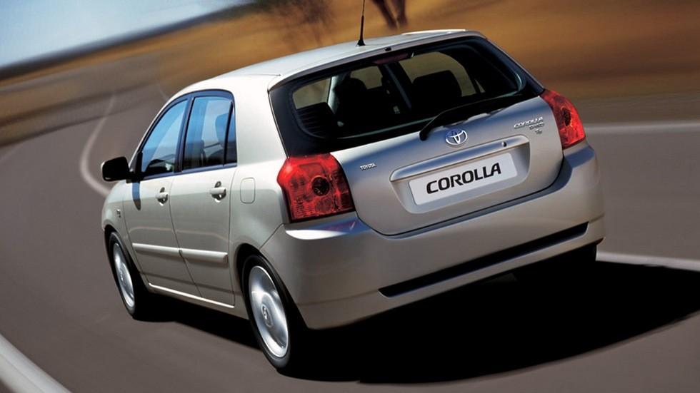 Toyota Corolla 5-door '2004–07