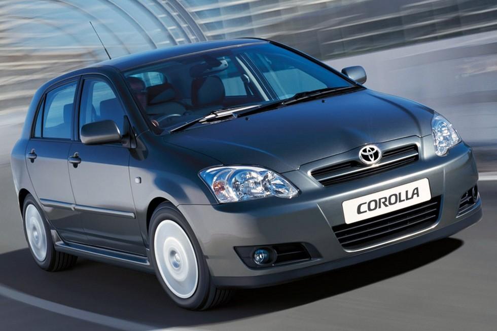 Toyota Corolla 5-door '2004–07д
