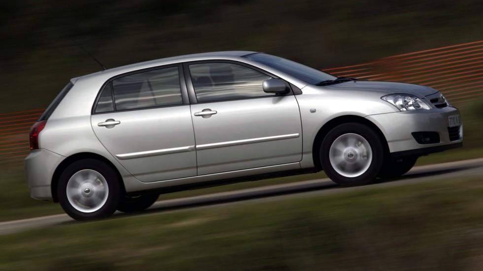 Toyota Corolla 5-door '2004–07ф