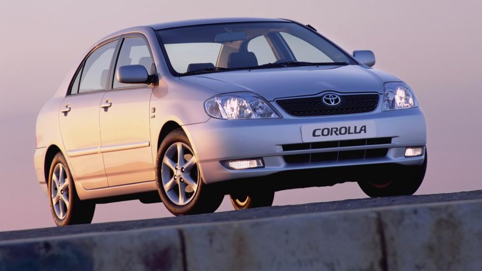 Toyota Corolla Sedan Worldwide '2001–04