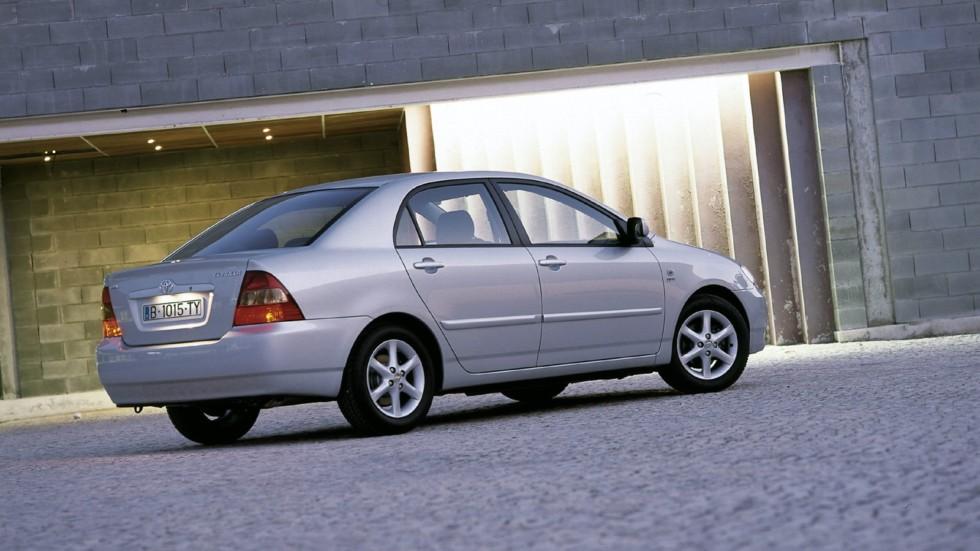 Toyota Corolla Sedan Worldwide '2001–04шл