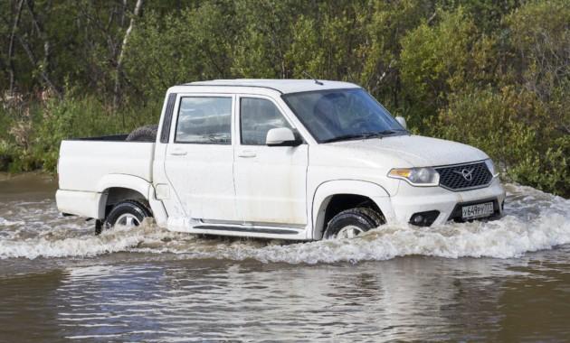 «УАЗ» начал поставки собственных авто вЕвропу