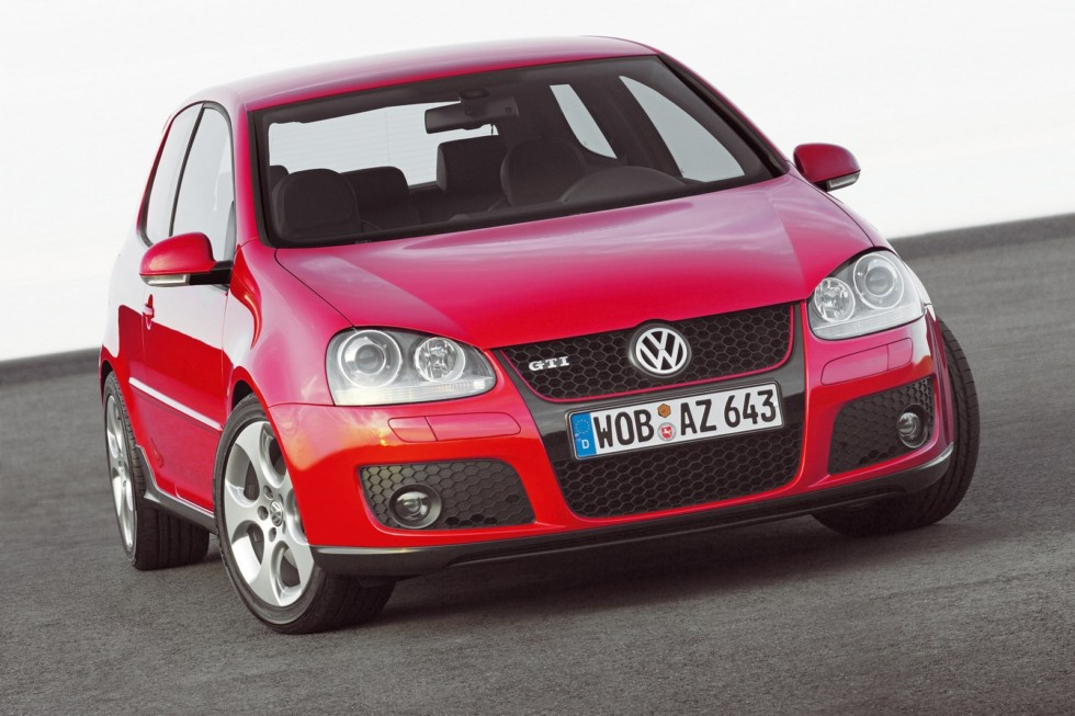 Volkswagen Golf GTI 3-door (Typ 1K) '2004–08