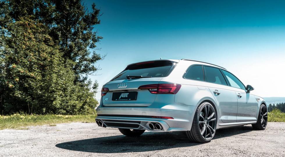 «Сарай» Audi A4: до 330 сил от ABT