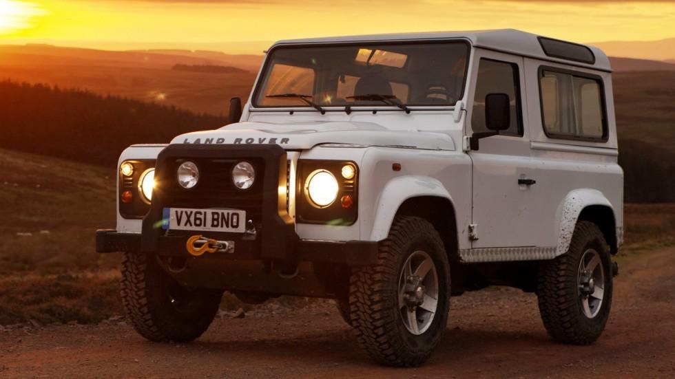 Land Rover Defender 90 Station Wagon Worldwide '2007–н.в.