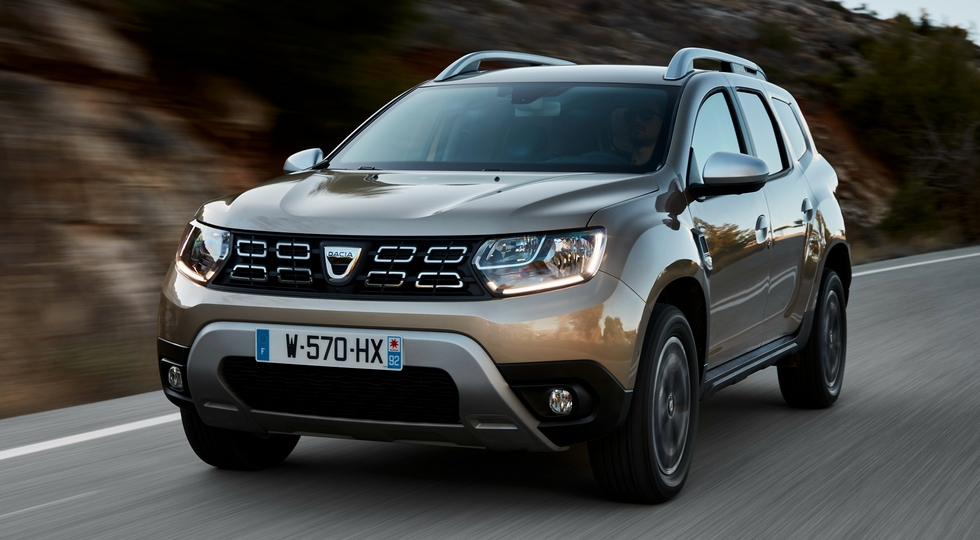 Dacia Duster нового поколения