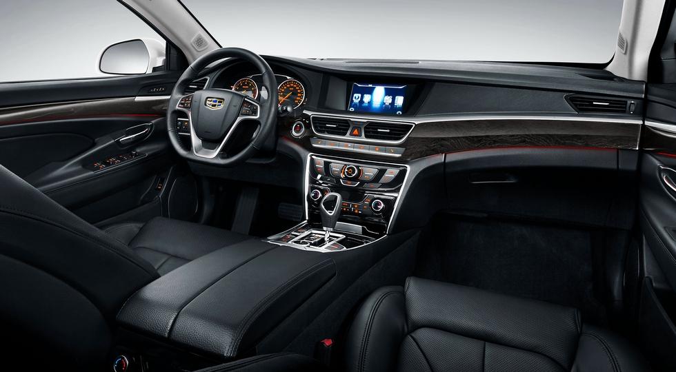 Geely Emgrand GT, актуальная версия для России. В Китае уже продают обновленный седан
