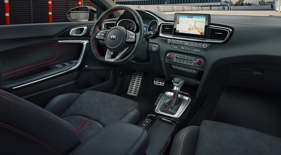 Новый Kia Ceed GT