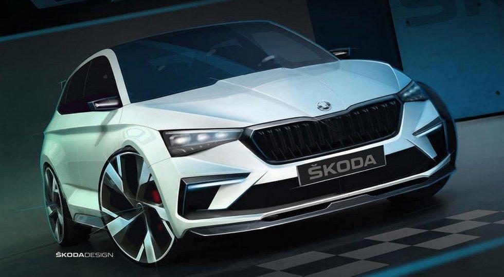 Концепт Skoda Vision RS