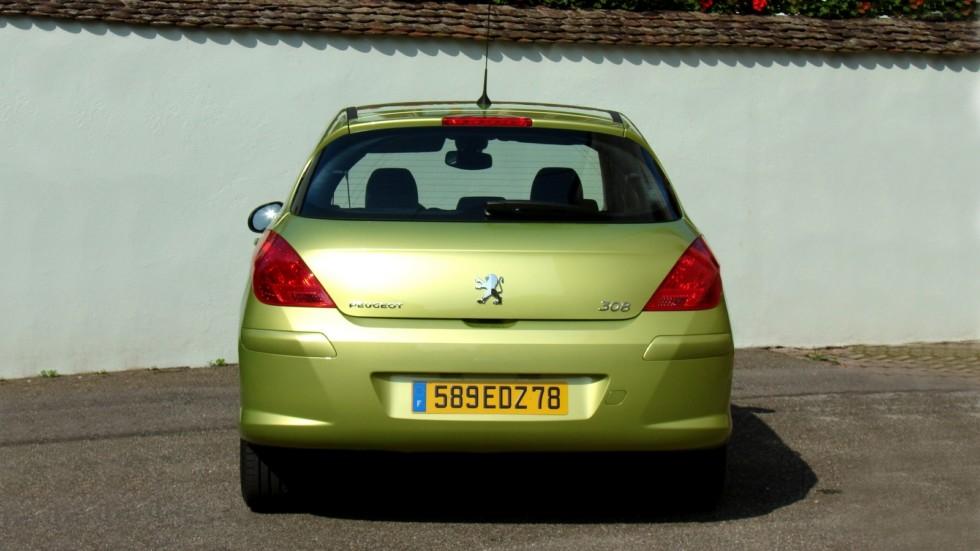 Peugeot 308 5-door Worldwide '2007–11