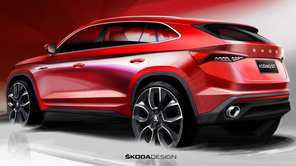 Skoda Kodiaq GT: первые официальные изображения