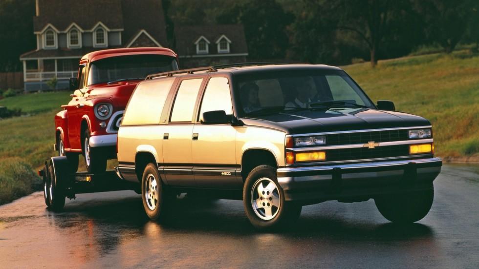 1992–93 Chevrolet 1500 Suburban (GMT400)