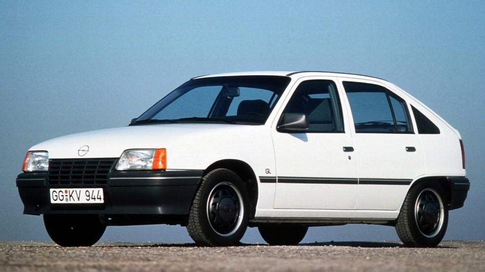 Opel Kadett GL 5-door (E) '1984–89