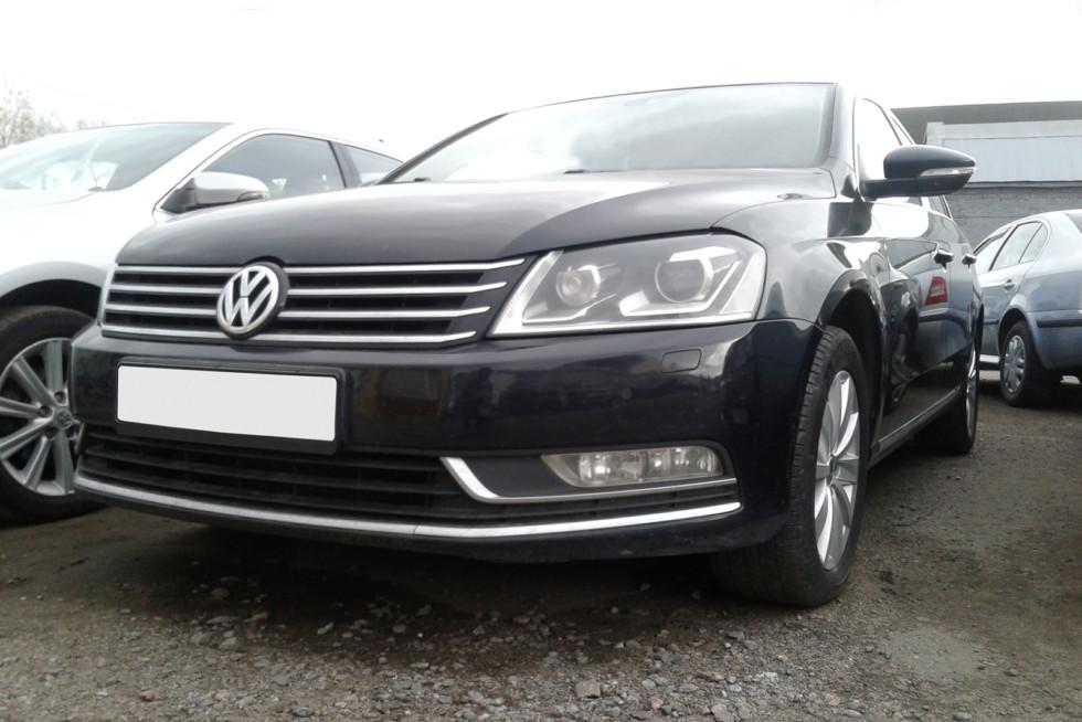 Volkswagen-Passat-черный