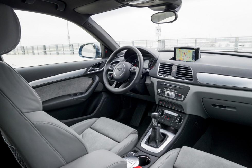 Интерьер Audi Q3 2.0 TDI '2015–н.в.