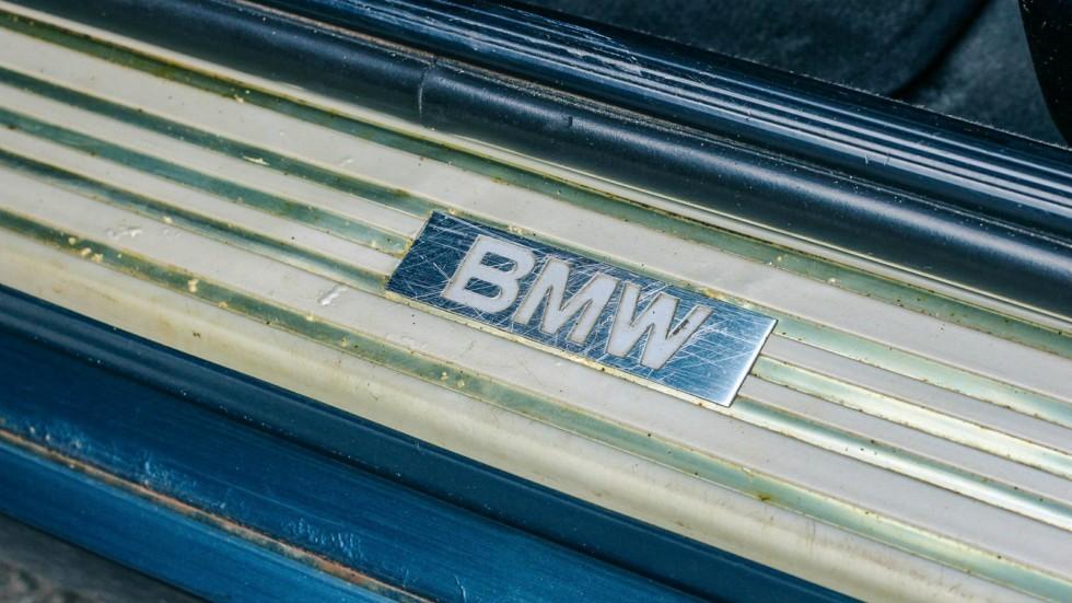 BMW 5 серии E34 порог в салоне