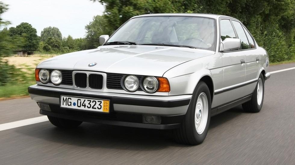 BMW 525i Sedan Worldwide (E34) '12.1987–94