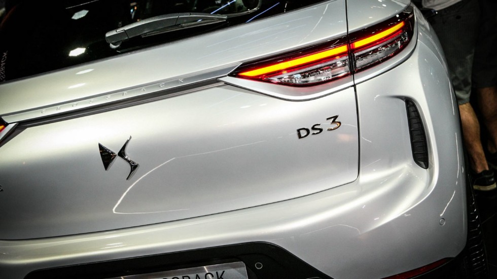 DS3 Crossback белый фонарь