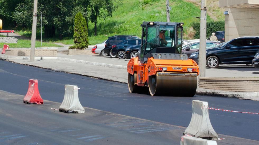 equipment repair on the road