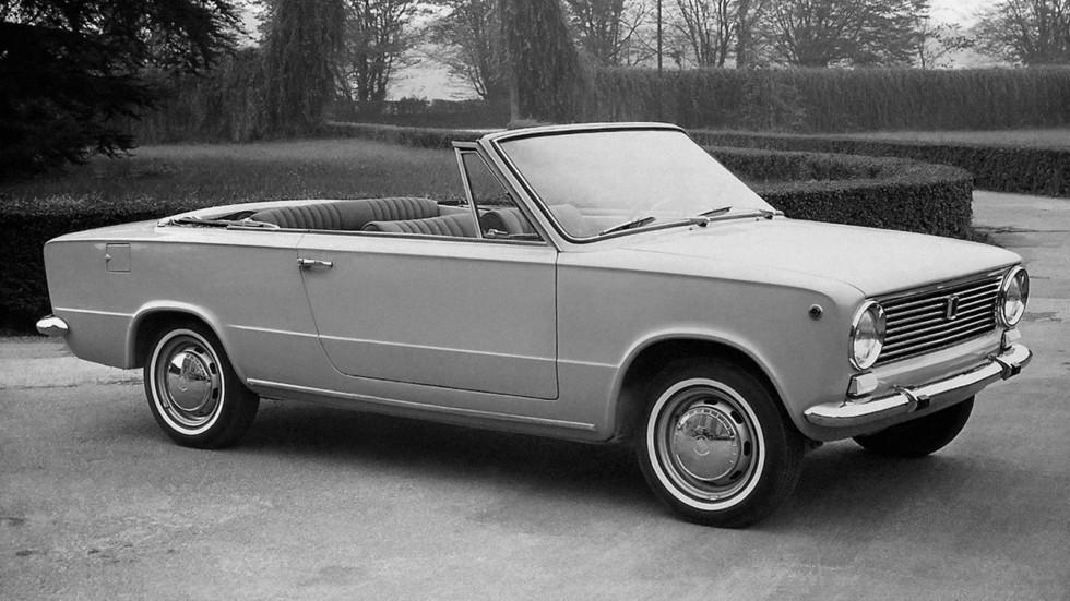 Fiat 124 Cabriolet C4 '1966ж