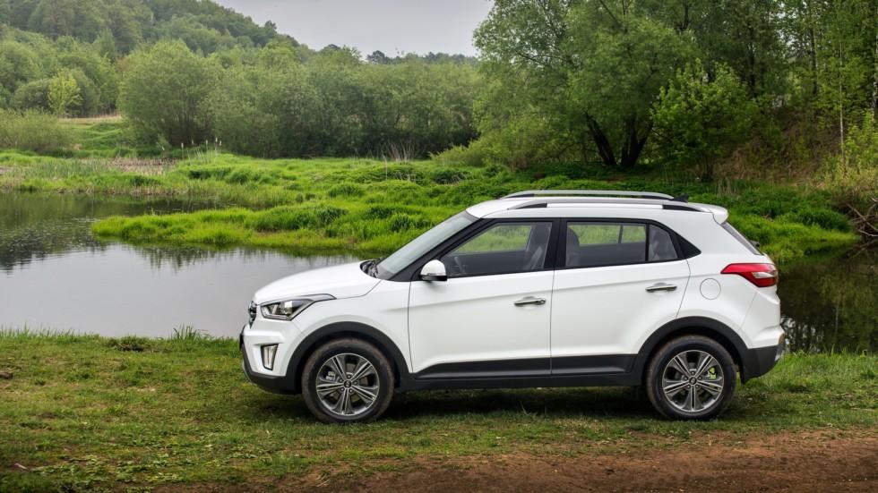Hyundai Creta CIS-spec '08.2016–н.в. белый сбоку