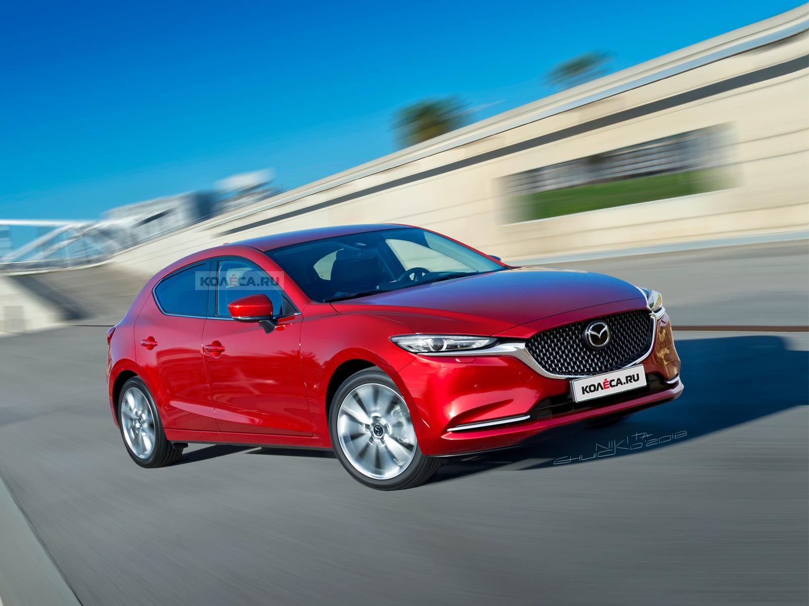 Минивэн Mazda 5 будет обновлен в 2018 году