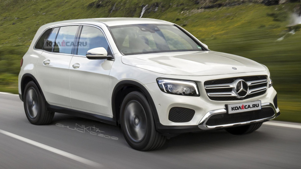 Mercedes-Benz GLB (рендер Kolesa.ru)