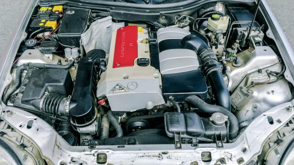 Mercedes-Benz SLK двигатель