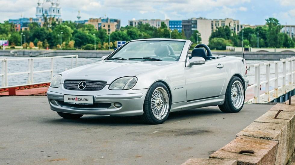 Mercedes-Benz SLK три четверти (1)
