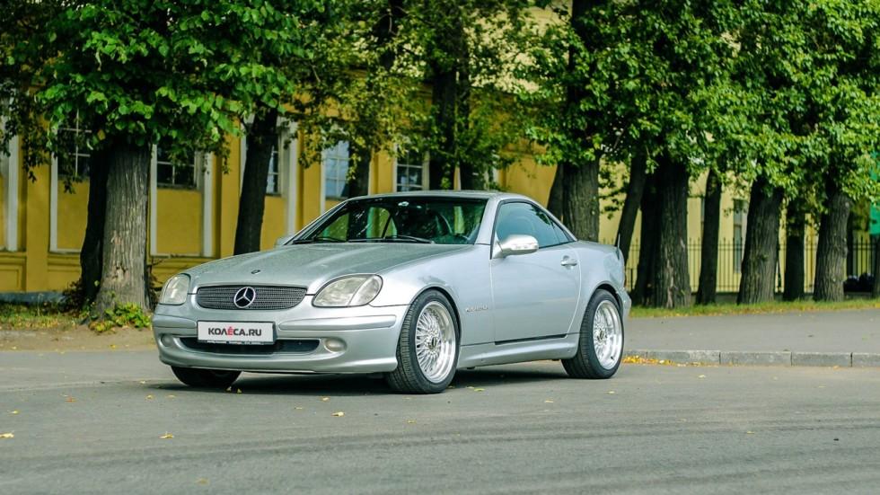 Mercedes-Benz SLK три четверти (2)