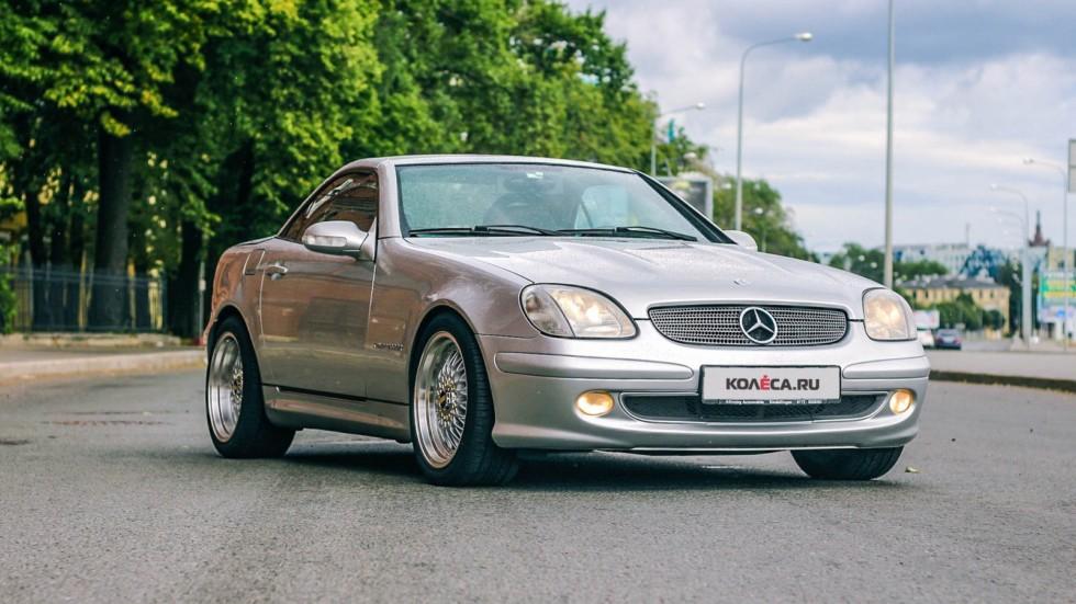 Mercedes-Benz SLK три четверти (6)