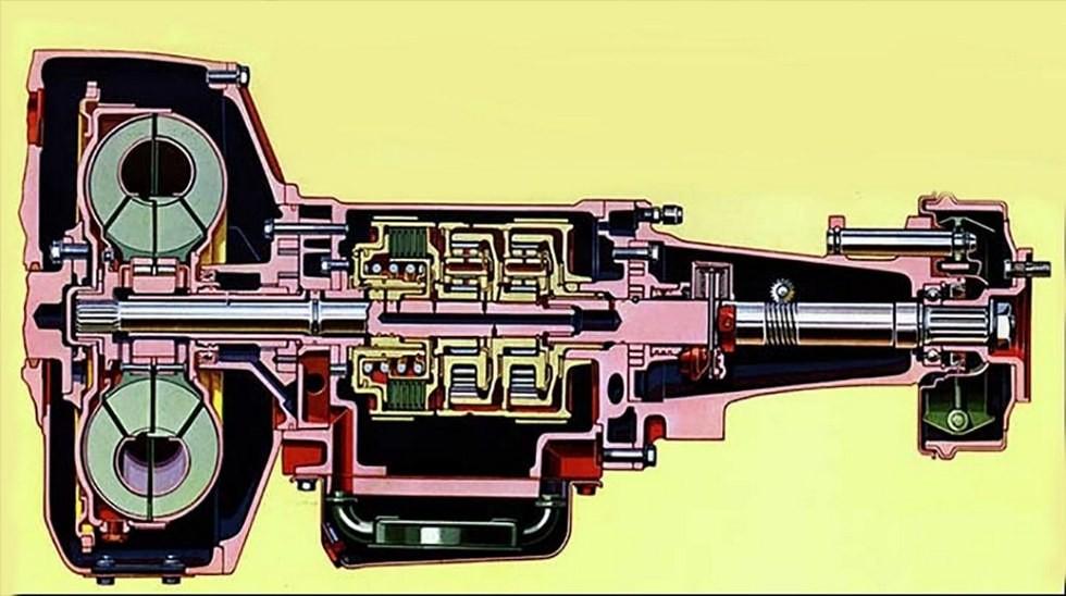 Коробку Powerflite немного доработали под могучий «зиловский» двигатель