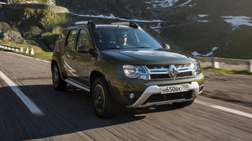 Renault Duster RU-spec '2015–н.в. три четверти