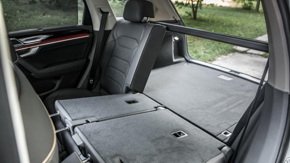 Volkswagen Touareg багажник (2)