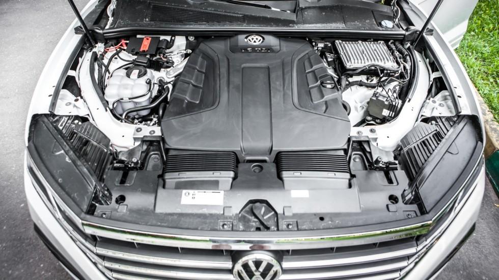 Volkswagen Touareg двигатель