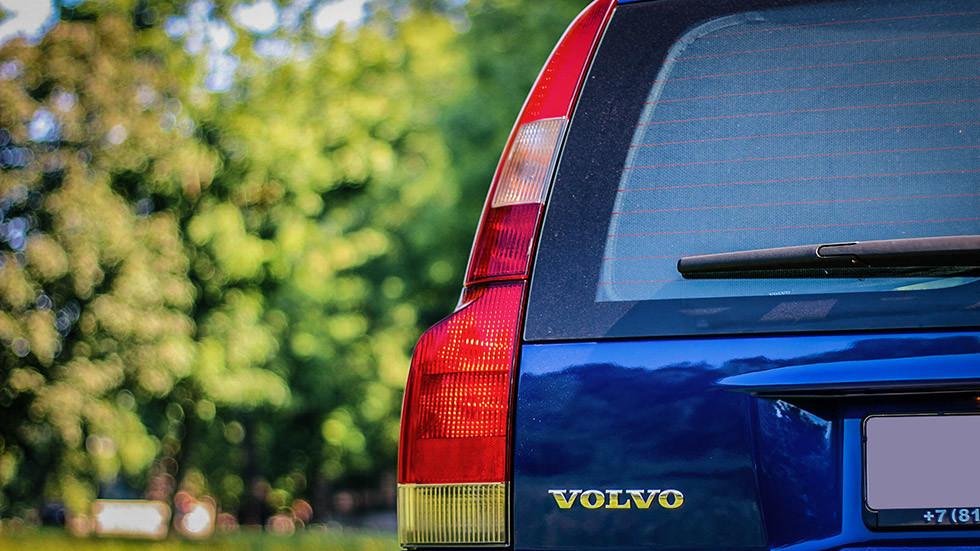 Volvo V70 XC фонарь