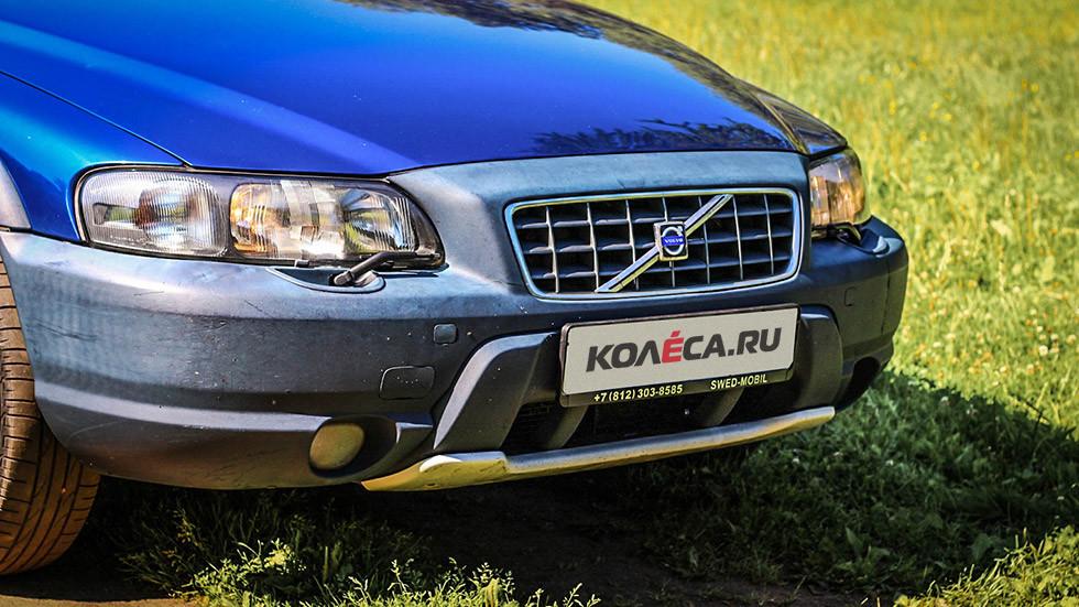 Volvo V70 XC передняя часть