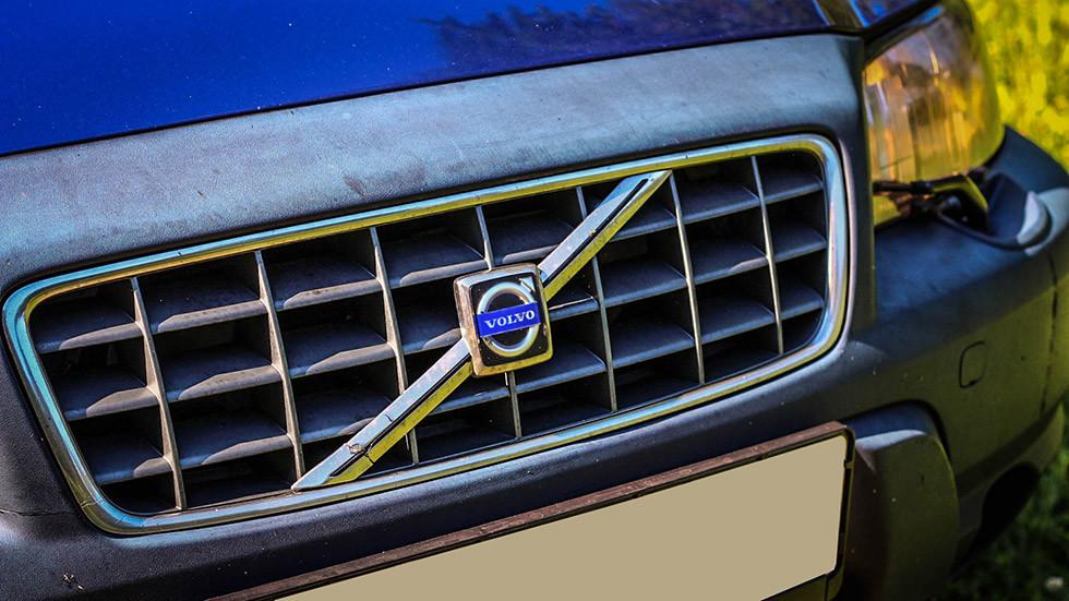 Volvo V70 XC решетка радиатора