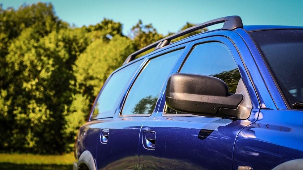 Volvo V70 XC сбоку