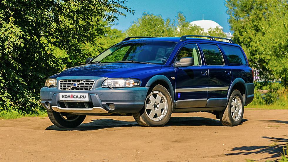 Volvo V70 XC три четверти (2)